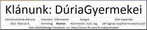 duria-gyermekei-klan-info